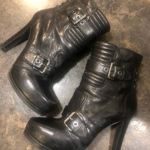 Nine West Women's size 8 Moto Boots